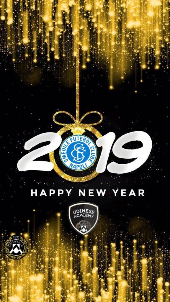 Buon 2019 dalla Smedile Fc Napoli