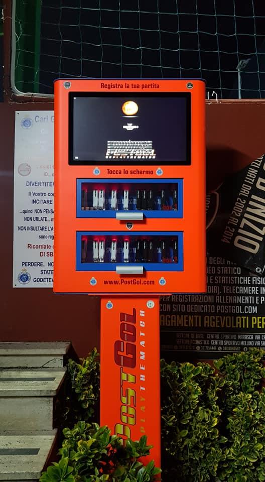 Alta tecnologia presso il Centro Sportivo MARASCA