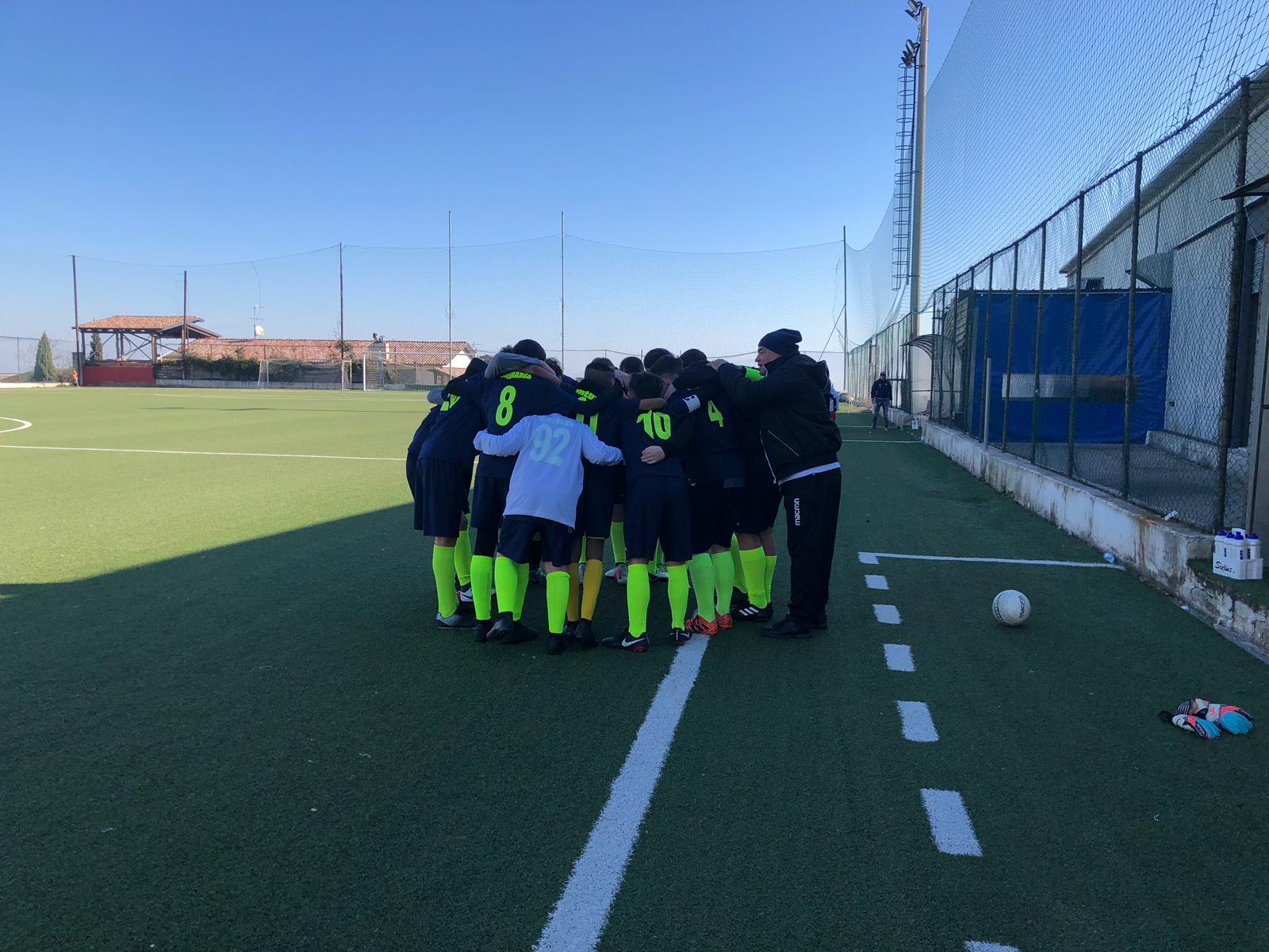 Pareggio in FIGC per i Giovanissimi