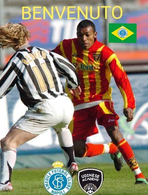 IL GRANDE ANDERSON RODNEY OLIVEIRA FARA' PARTE DELLA SMEDILE FC NAPOLI