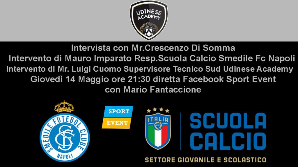 Smedile Fc Napoli in diretta con Sport Event tv